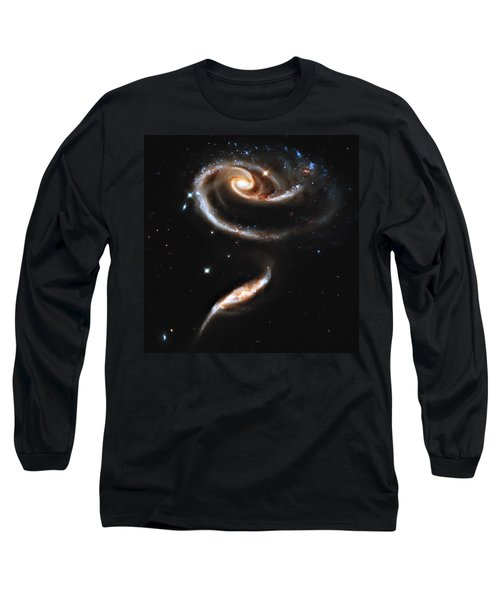 Arp 273 Rose Galaxies Long Sleeve T-Shirt