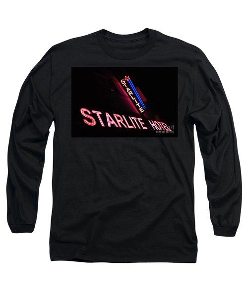 Starlite Hotel Art Deco District Miami 3 Long Sleeve T-Shirt