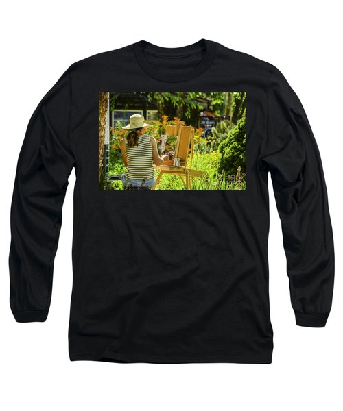 Art In The Garden Long Sleeve T-Shirt