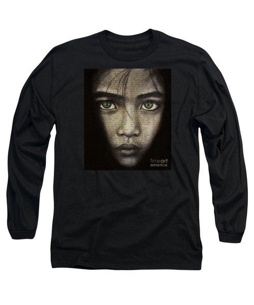 Art In The News 45 Long Sleeve T-Shirt by Michael Cross