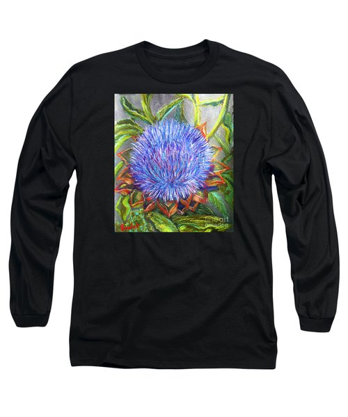 Artichoke Blossom Long Sleeve T-Shirt