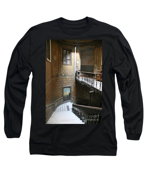 Artistic Staircase In Tbilisi Long Sleeve T-Shirt