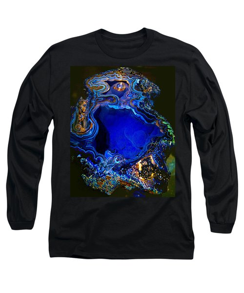 Artists Bisbee Velvet Beauty Azurite Long Sleeve T-Shirt