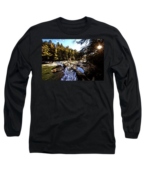 As Lawrence Welk Used To Say-ah Waterfall Waterfall Long Sleeve T-Shirt