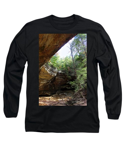 Ash Cave Of The Hocking Hills Long Sleeve T-Shirt
