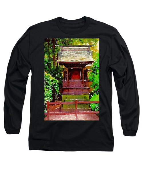 Asian Temple Long Sleeve T-Shirt by Daniel Precht