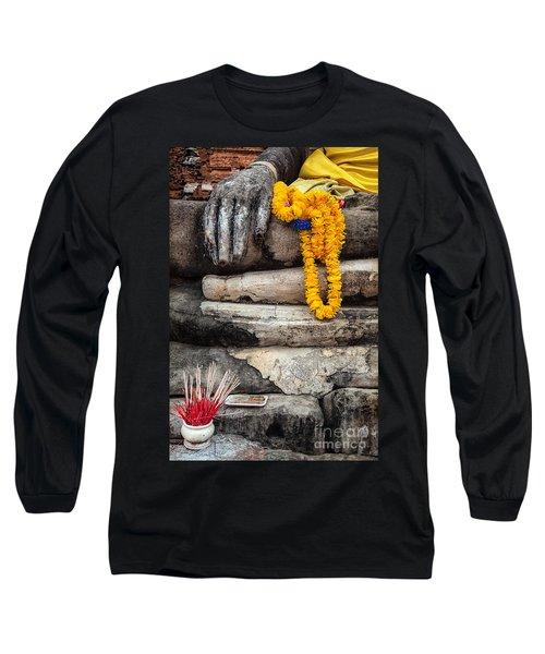 Asian Buddhism Long Sleeve T-Shirt