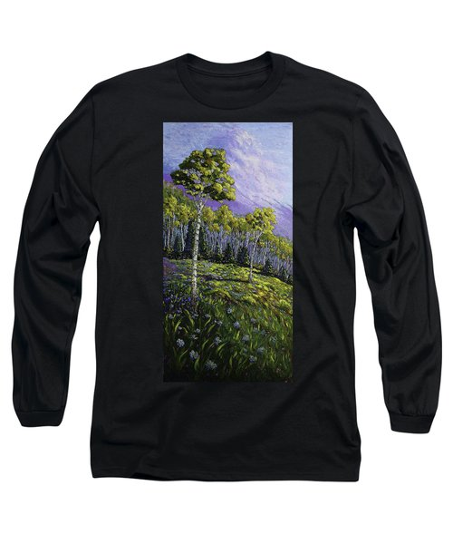 Aspen Blues Long Sleeve T-Shirt