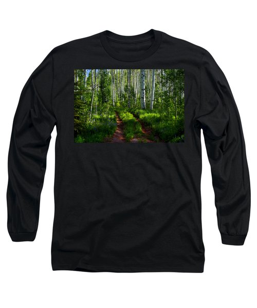 Aspen Lane Long Sleeve T-Shirt by Jeremy Rhoades