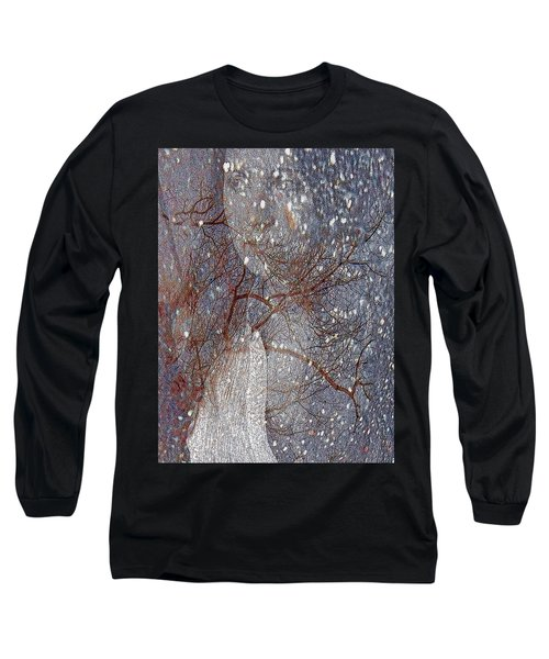 Asphalt - Portrait Of A Lady Long Sleeve T-Shirt