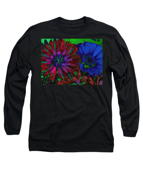 Asters Long Sleeve T-Shirt