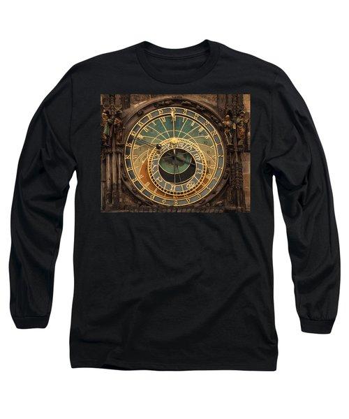Astronomical Clock Long Sleeve T-Shirt