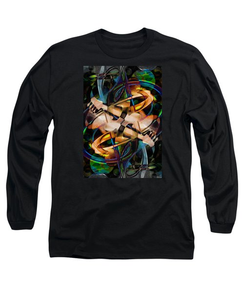 Asturias In G Minor Abstract Long Sleeve T-Shirt