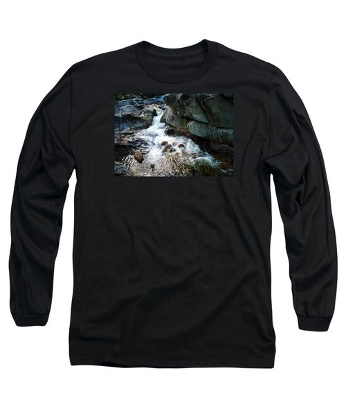 Long Sleeve T-Shirt featuring the photograph At Coos Canyon by Joy Nichols