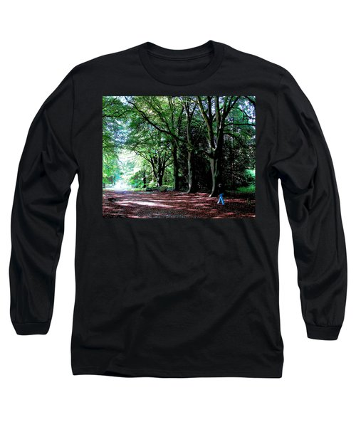 Long Sleeve T-Shirt featuring the photograph At Peace With Nature by Charlie Brock