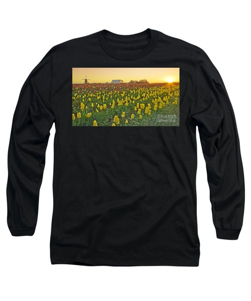 Long Sleeve T-Shirt featuring the photograph At The Crack Of Dawn by Nick  Boren