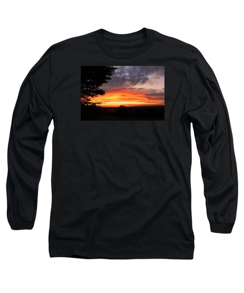 Long Sleeve T-Shirt featuring the photograph At The End Of The Day ... by Juergen Weiss