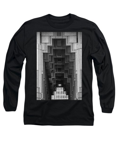 Atlanta Ga Architecture-city Building Long Sleeve T-Shirt