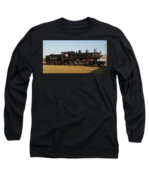Atlantic And Western 2-8-0 #542 Spencer North Carolina Long Sleeve T-Shirt