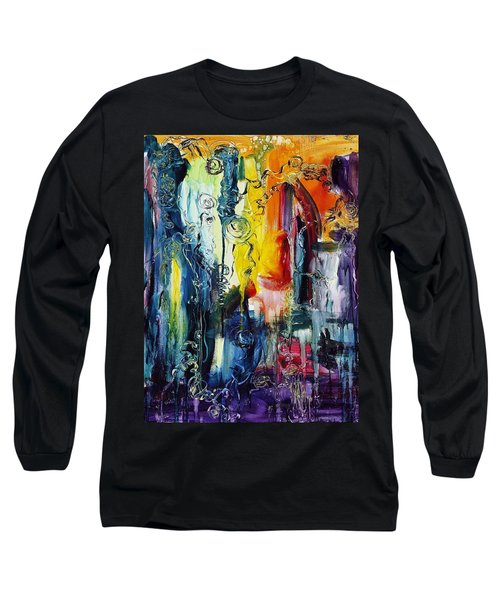Atlantis Sinking Long Sleeve T-Shirt
