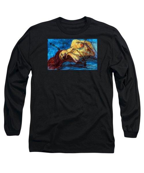 Auburn In Repsoe Long Sleeve T-Shirt by Michael Cross