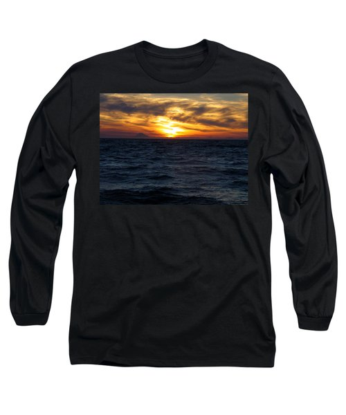 Long Sleeve T-Shirt featuring the photograph Augustine Sleeps by Jeremy Rhoades