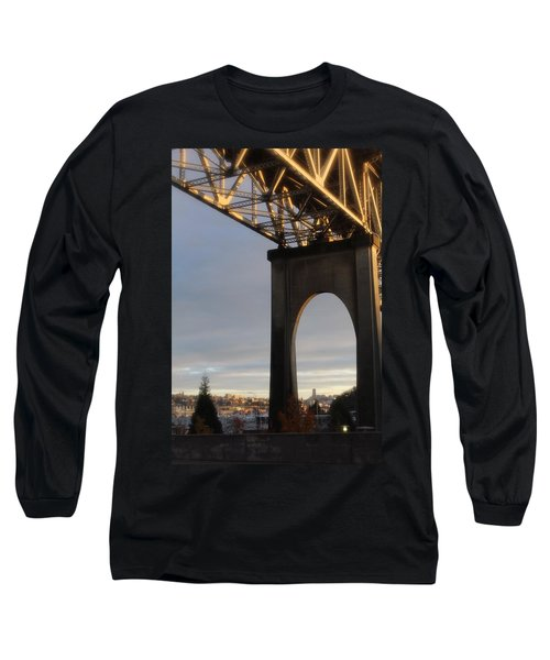 Aurora Bridge Seattle Washington  Long Sleeve T-Shirt