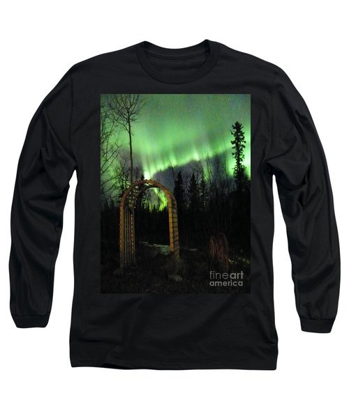 Auroral Arch Long Sleeve T-Shirt by Brian Boyle