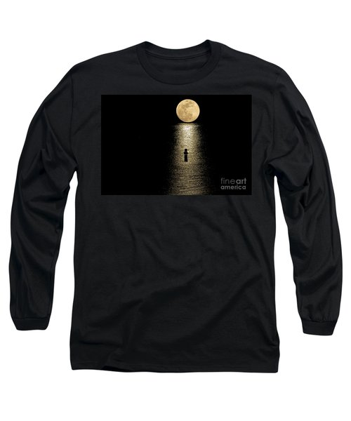 Auspicious Moon Long Sleeve T-Shirt