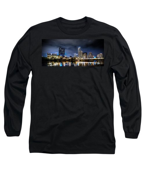Austin Skyline Hdr Long Sleeve T-Shirt