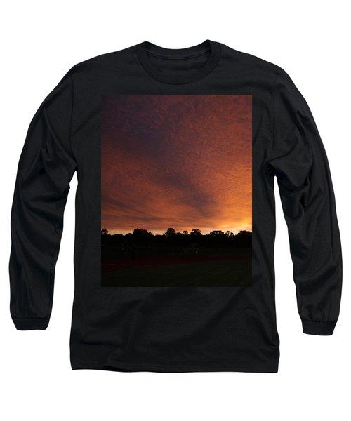 Autum Sunset Long Sleeve T-Shirt