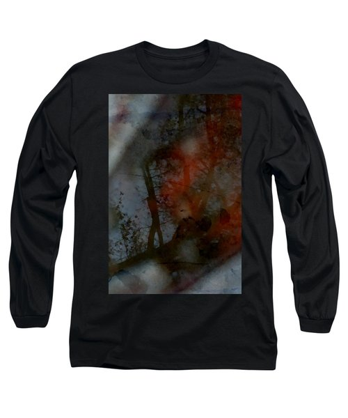 Autumn Abstract Long Sleeve T-Shirt by Photographic Arts And Design Studio