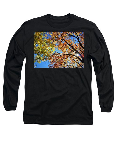 Autumn Afternoon Long Sleeve T-Shirt by Cricket Hackmann