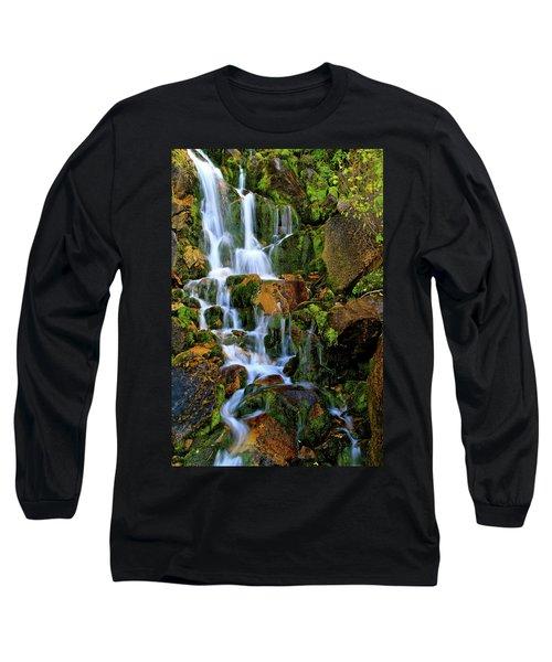 Autumn Along Summit Creek Long Sleeve T-Shirt