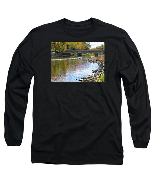 Autumn Along The Fox River Long Sleeve T-Shirt