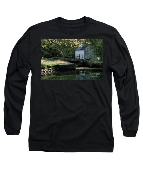 Autumn At The Lockhouse Long Sleeve T-Shirt