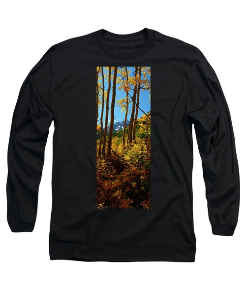 Autumn Brilliance 2 Long Sleeve T-Shirt by Jeremy Rhoades