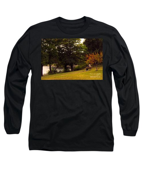 Autumn By The River Long Sleeve T-Shirt