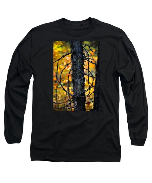 Long Sleeve T-Shirt featuring the photograph Autumn Colors 1 by Newel Hunter