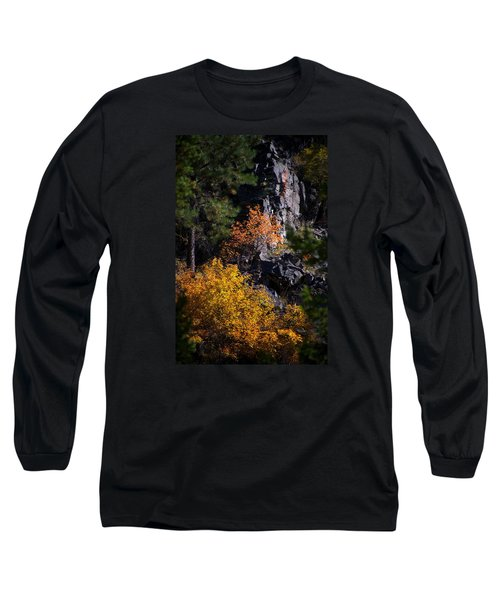 Long Sleeve T-Shirt featuring the photograph Autumn Colors 2 by Newel Hunter