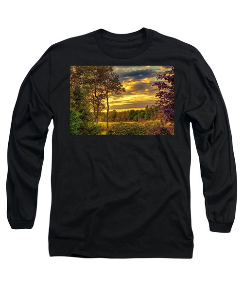 Autumn Colors Long Sleeve T-Shirt by Fred Larson