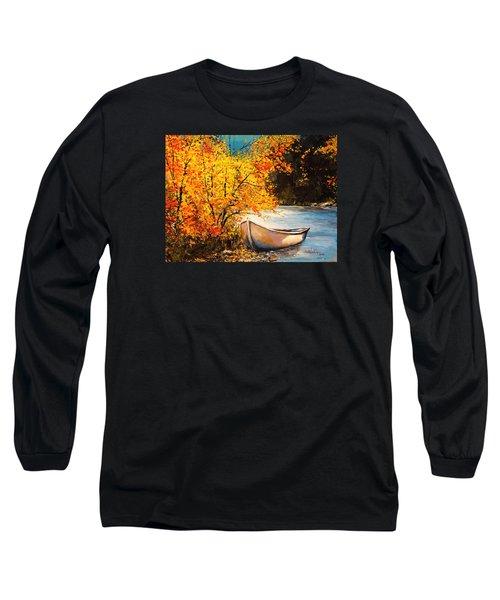 Autumn Gold Long Sleeve T-Shirt