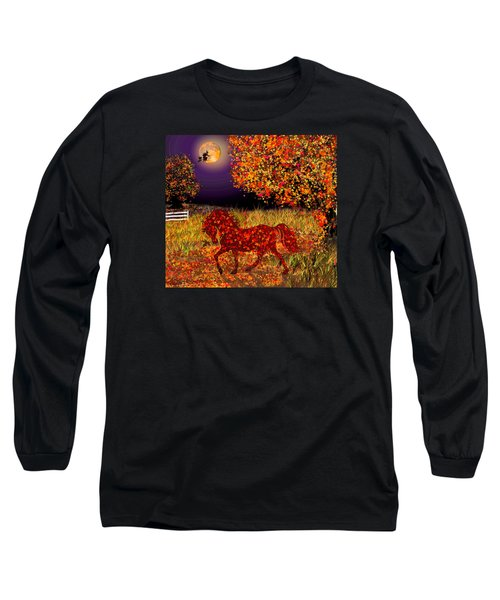 Autumn Horse Bewitched Long Sleeve T-Shirt