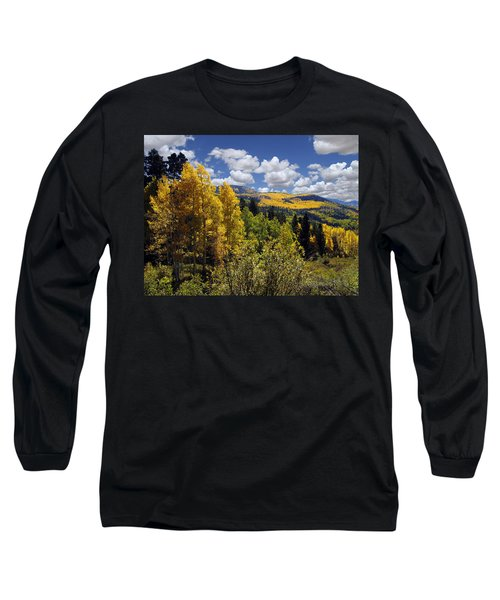 Autumn In New Mexico Long Sleeve T-Shirt