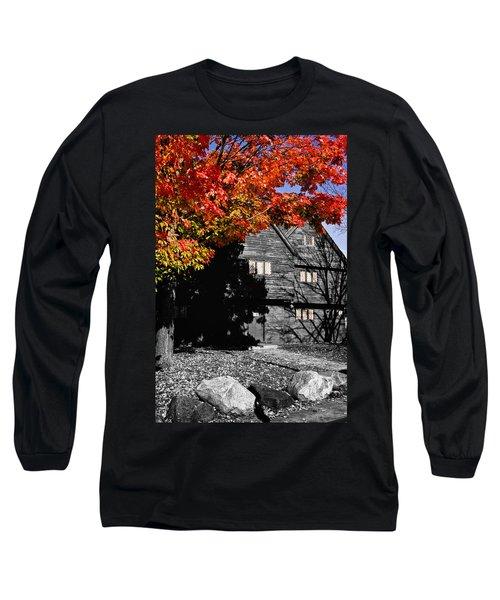 Autumn In Salem Long Sleeve T-Shirt by Jeff Folger