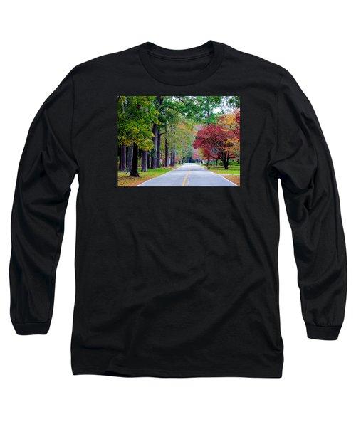 Long Sleeve T-Shirt featuring the photograph Autumn In The Air by Cynthia Guinn