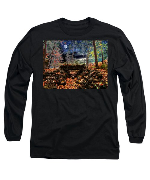 Autumn In The Meadow Long Sleeve T-Shirt by Michael Rucker