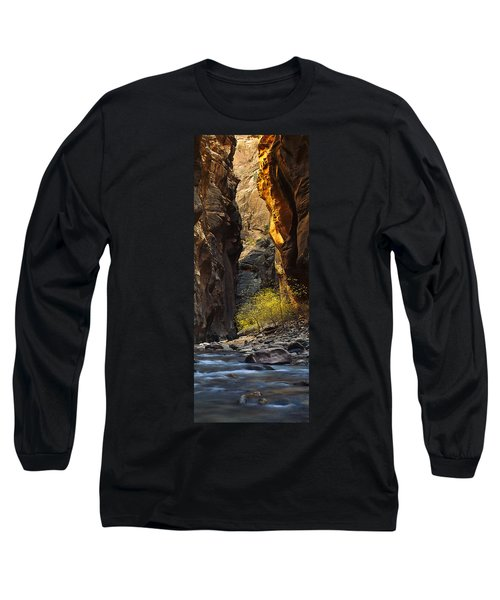 Long Sleeve T-Shirt featuring the photograph Autumn In The Narrows by Andrew Soundarajan