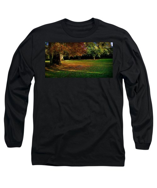 Long Sleeve T-Shirt featuring the photograph Autumn by Nina Ficur Feenan