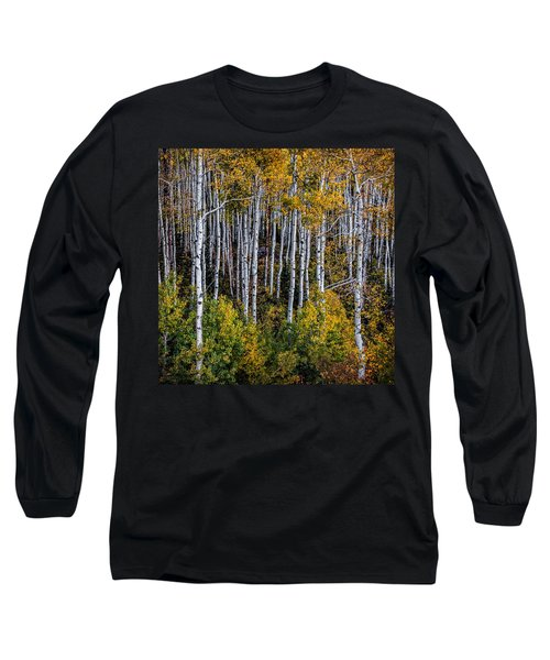 Long Sleeve T-Shirt featuring the photograph Autumn On Mcclure Pass by Ken Smith